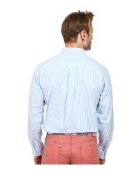 Vineyard Vines | Blue St. Maarten Stripe Tucker Shirt for Men | Lyst