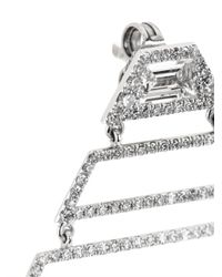 Susan Foster - Diamond & White-Gold Earrings - Lyst