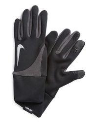 Nike | Black 'element 2.0' Tech Running Gloves for Men | Lyst