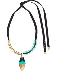 Marni | Green Horn Necklace, Women's, Emerald | Lyst