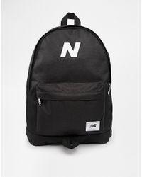 c583b9c20ef New Balance Mellow Backpack in Black for Men - Lyst