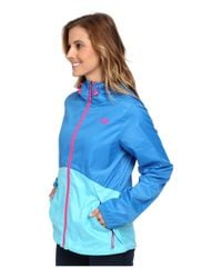The North Face - Blue Flyweight Hoodie - Lyst