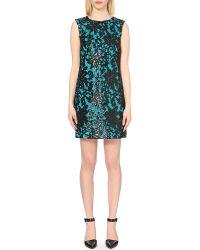 Diane von Furstenberg - Blue Kaleb Embellished Dress - Lyst