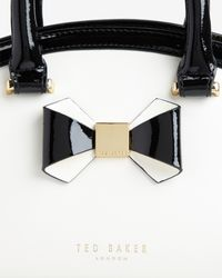 Ted Baker | Natural Bow Leather Tote Bag | Lyst
