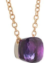 Pomellato - Pink Nudo 18-karat Rose Gold Amethyst Necklace - Lyst