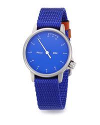 Miansai - Blue M24 Rope Strap Watch - Lyst