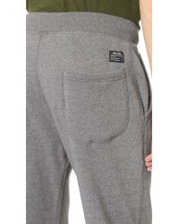 Obey - Gray Arlington Fleece Pants for Men - Lyst
