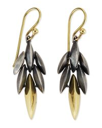Alexis Bittar Fine - Gray Mini Cascade Drop Earrings - Lyst