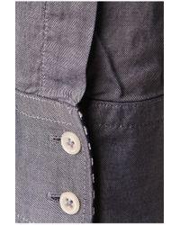 BOSS Orange | Blue Patterned Slim-fit Shirt In Cotton 'eslime' for Men | Lyst