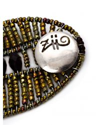 Ziio - Gray Armonia Multi-beaded Bracelet - Lyst
