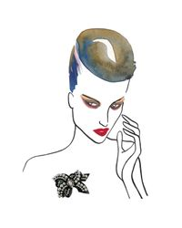 Shourouk | Black Bow Brooch | Lyst