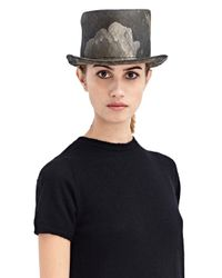 Reinhard Plank - Gray New Season - Womens Manco Straw Hat - Lyst