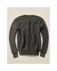 RRL - Black Cashmere Shawl Cardigan for Men - Lyst