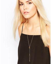 Gorjana | Metallic Super Star Lariat Necklace | Lyst