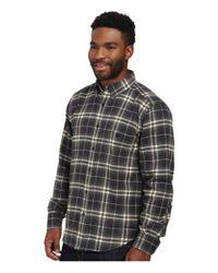 Woolrich | Black Trout Run Flannel Shirt for Men | Lyst