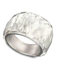 Swarovski - Natural Crystal Ring - Lyst