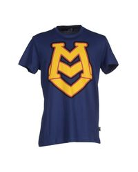Love Moschino | Blue T-shirt for Men | Lyst