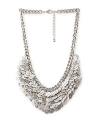Forever 21 | Metallic Layered Fringe Chain Necklace Set | Lyst