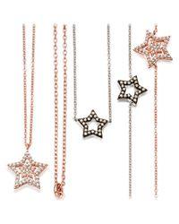 Astley Clarke - Pink Super Star 14ct Rose-gold And Diamond Bracelet - Lyst