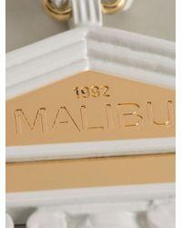 Malibu 1992 - Metallic 'apollo' Temple Opera Necklace - Lyst