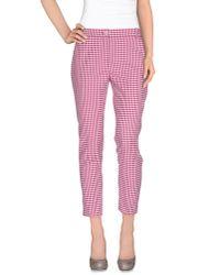 Pinko - Purple Casual Trouser - Lyst