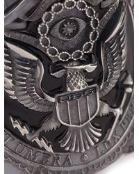 Diesel Black Gold | Metallic 'Broox' Cuff for Men | Lyst