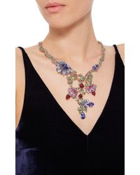 Wendy Yue | Multicolor Floral Collar Necklace | Lyst
