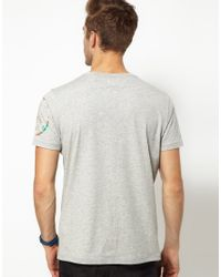 DIESEL | Gray T-green for Men | Lyst