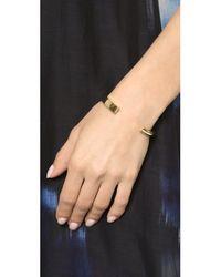 Elizabeth and James | Metallic Serra Cuff Bracelet - Gold | Lyst