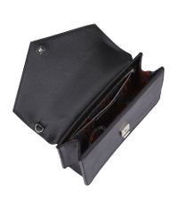 Vivienne Westwood | Black Saffiano Pouch for Men | Lyst