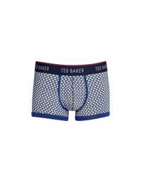 Ted Baker | Blue Moneta Swan Boxer Briefs for Men | Lyst
