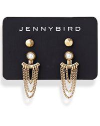 Jenny Bird | Metallic Lezark Ear Jackets | Lyst