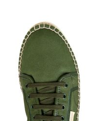 Gucci - Green Eivissa Canvas Espadrille Sneakers for Men - Lyst
