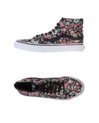 Vans   Black Low-tops & Sneakers   Lyst
