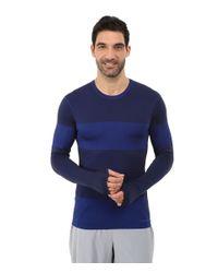 Brooks | Blue Streaker Long Sleeve Top for Men | Lyst