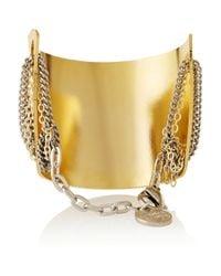 Gemma Redux - Metallic Gold-plated Bracelet - Lyst