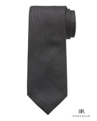 Banana Republic   Black Br Monogram Silk Tie for Men   Lyst