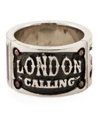 Stephen Webster - Metallic 'london Calling' Ring for Men - Lyst