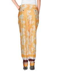 Vionnet - Orange Casual Trouser - Lyst