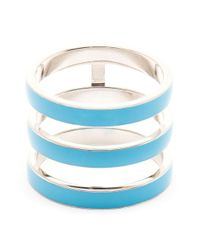 Repossi | Blue Berbère White Gold and Turquoise Ring | Lyst