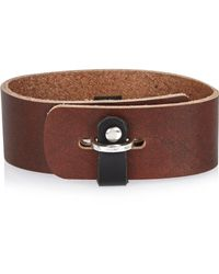 River Island | Brown Chunky Cuff for Men | Lyst