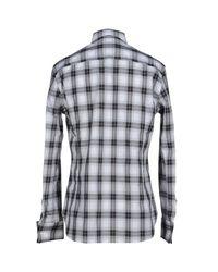 Ermanno Scervino - Gray Shirt for Men - Lyst