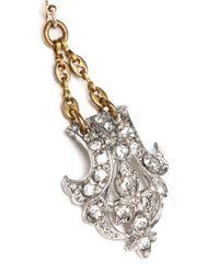 Lulu Frost - Metallic Art Deco Dress Clip Earrings - Lyst