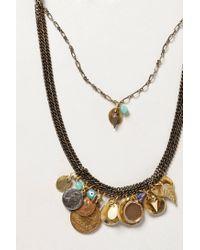 Anthropologie | Green Ciel Necklace | Lyst