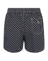 Polo Ralph Lauren | Black Polka Dot Swim Shorts for Men | Lyst
