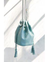 Silence + Noise | Green Simple Bucket Bag | Lyst