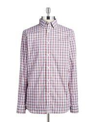 Victorinox | Red Plaid Sportshirt for Men | Lyst
