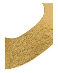 Herve Van Der Straeten - Metallic Hammered Gold-Plated Necklace - Lyst