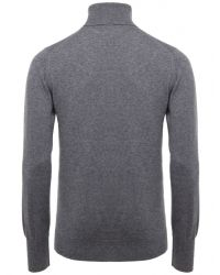 Jules B - Gray Cashmere Roll Neck Sweater for Men - Lyst