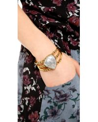 Vanessa Mooney | Metallic Banshee Cuff Bracelet | Lyst